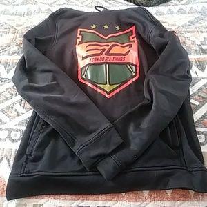Mens UA fitted sweatshirt